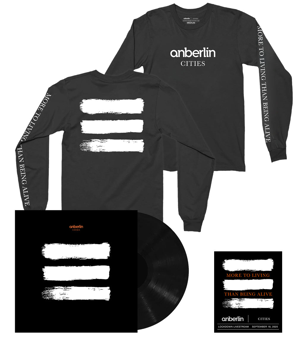 Anberlin More To Living Than Being Alive Bundle #3 *PREORDER - SHIPS 1/29/2021