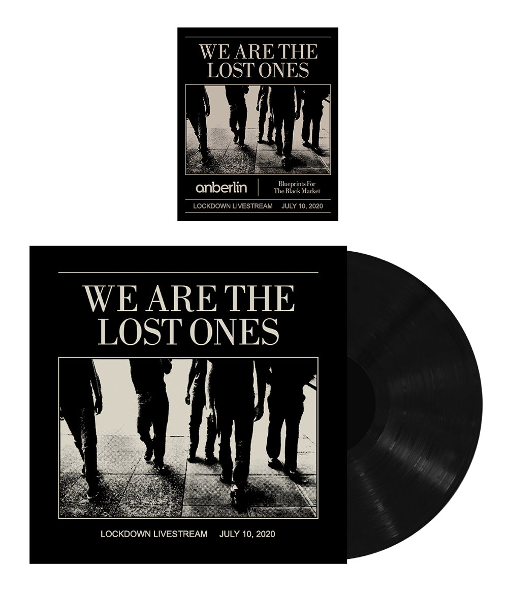 Anberlin We Are The Lost Ones Bundle #1 *PREORDER SHIPS 9/21