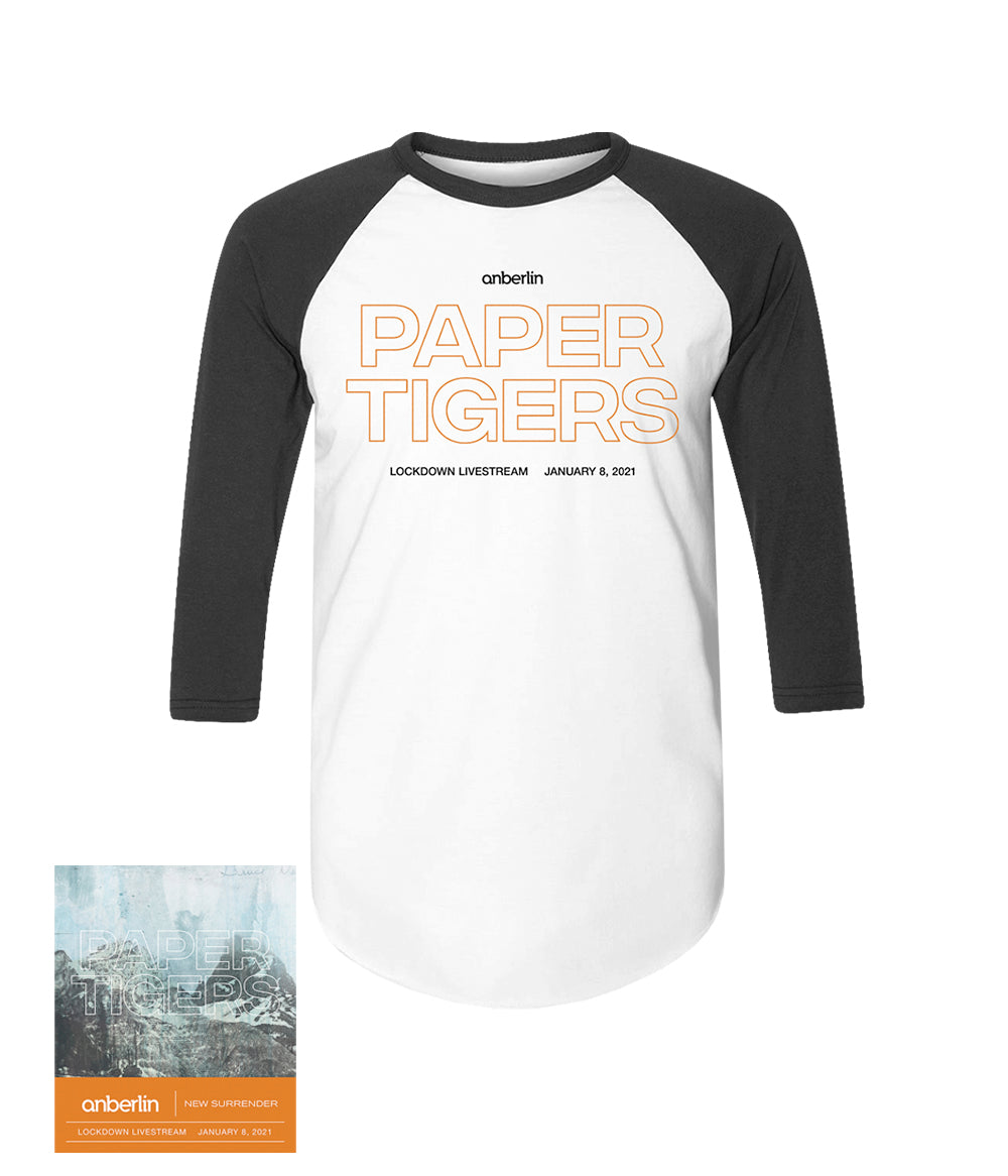 Anberlin Paper Tigers Bundle #10 *PREORDER - SHIPS JAN 29