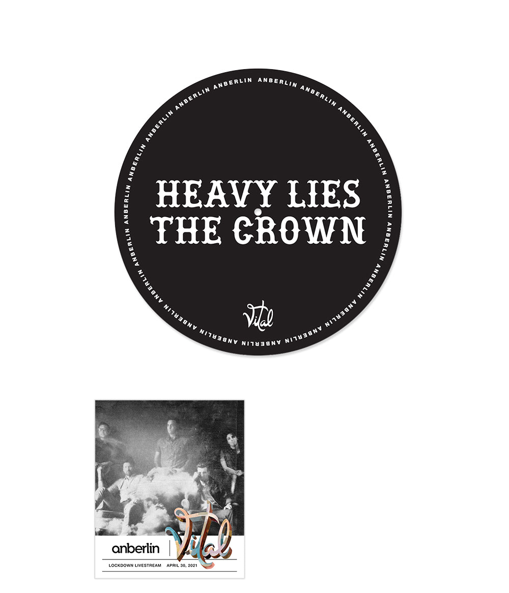 Anberlin Heavy Lies The Crown Bundle #12 *PREORDER - SHIPS 06/11