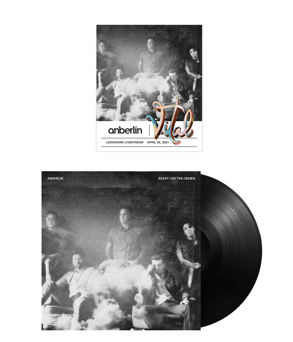Anberlin Heavy Lies The Crown Bundle #1 *PREORDER - SHIPS NOV 2021