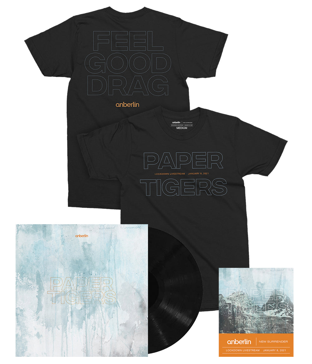 Anberlin Paper Tigers Bundle #2 *PREORDER - SHIPS JUNE 2021