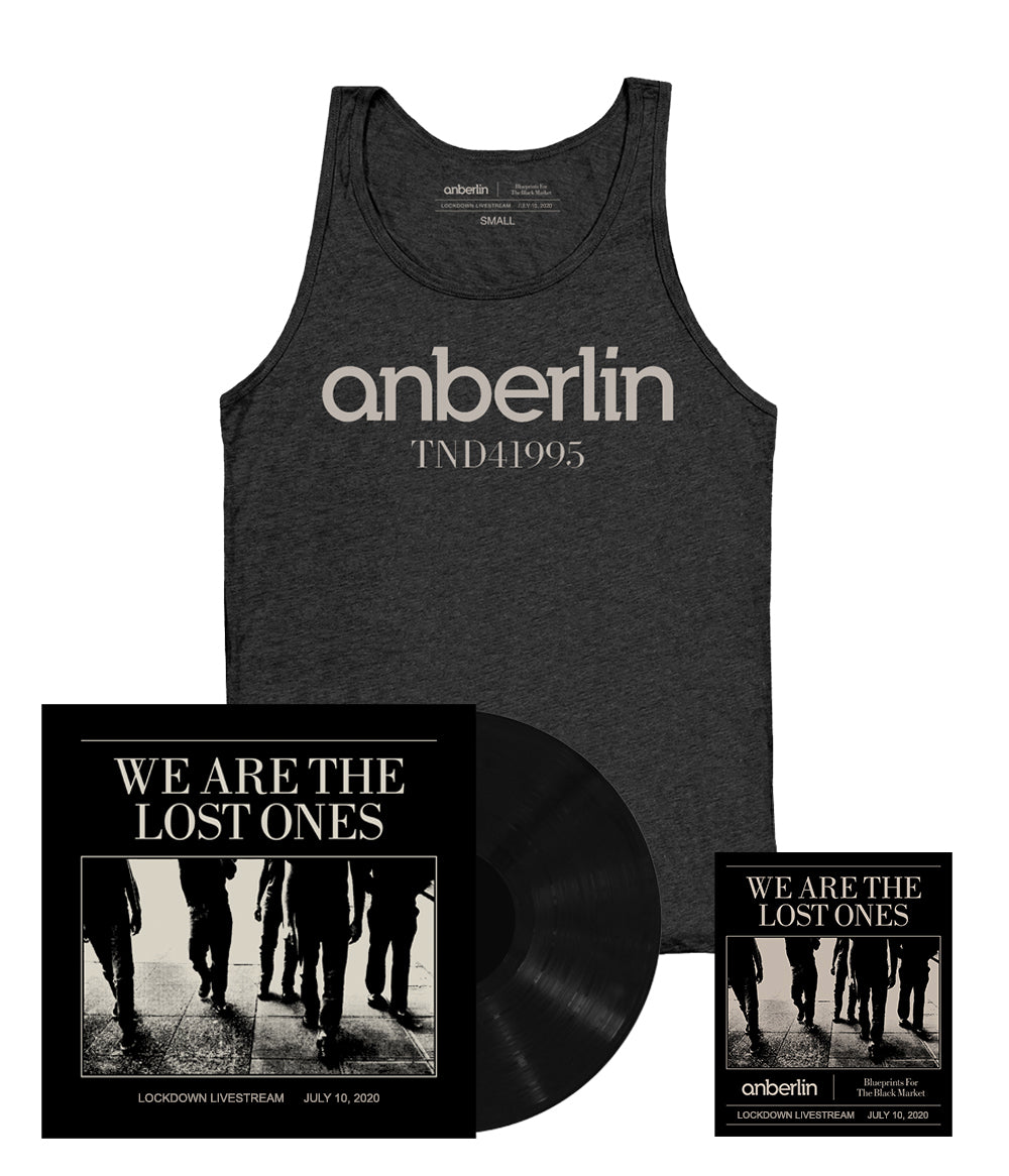 Anberlin We Are The Lost Ones Bundle #3 *PREORDER SHIPS 9/21