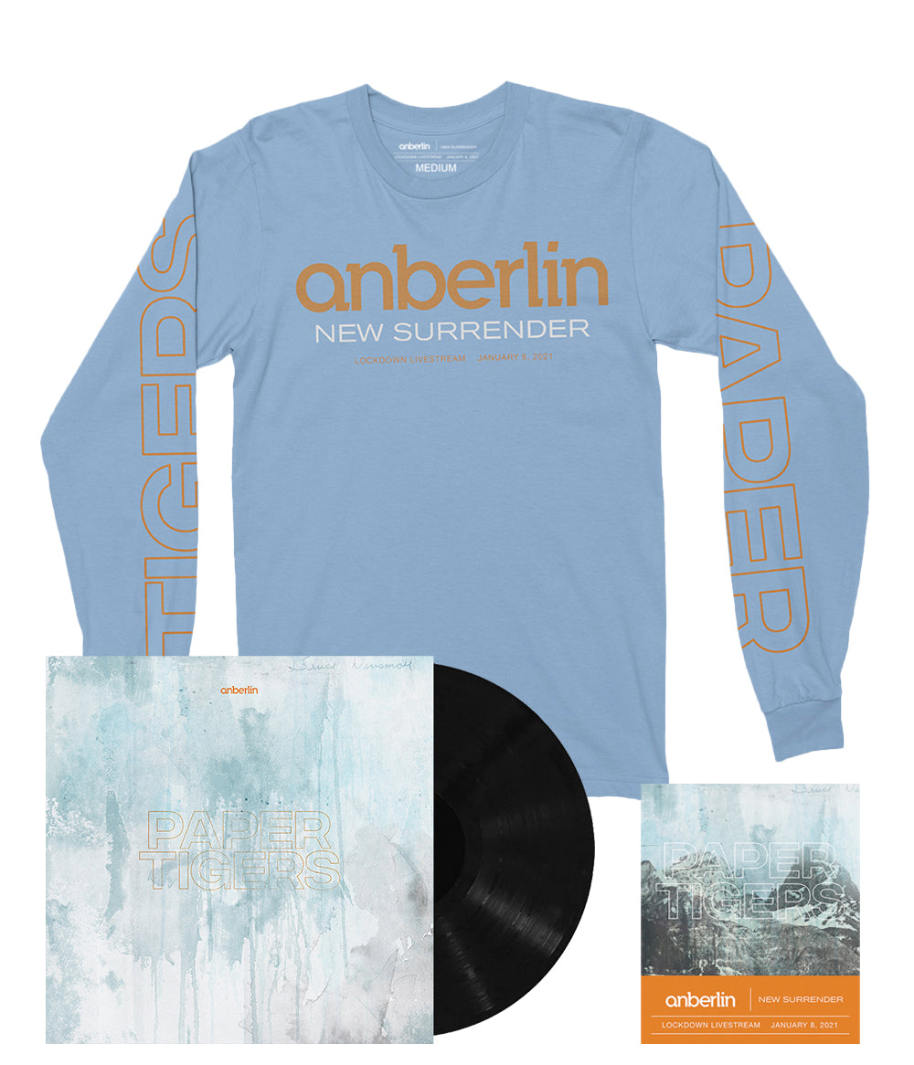 Anberlin Paper Tigers Bundle #3 *PREORDER - SHIPS JUNE 2021