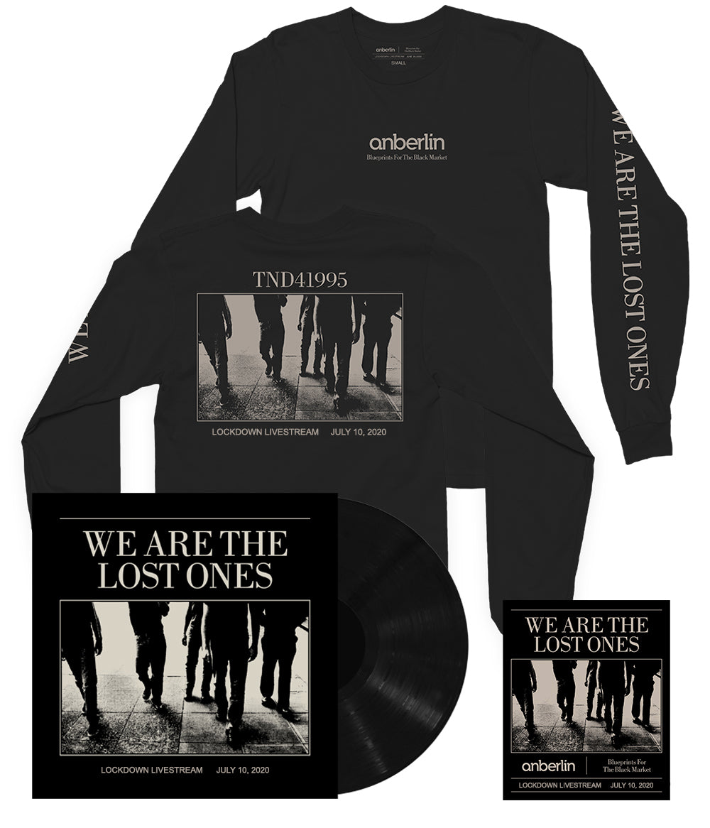 Anberlin We Are The Lost Ones Bundle #4 *PREORDER SHIPS 9/21