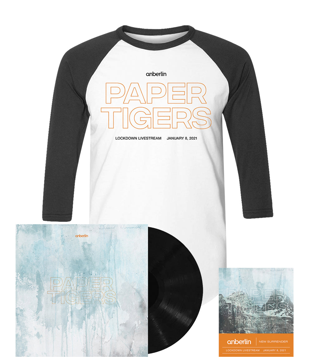 Anberlin Paper Tigers Bundle #4 *PREORDER - SHIPS JUNE 2021