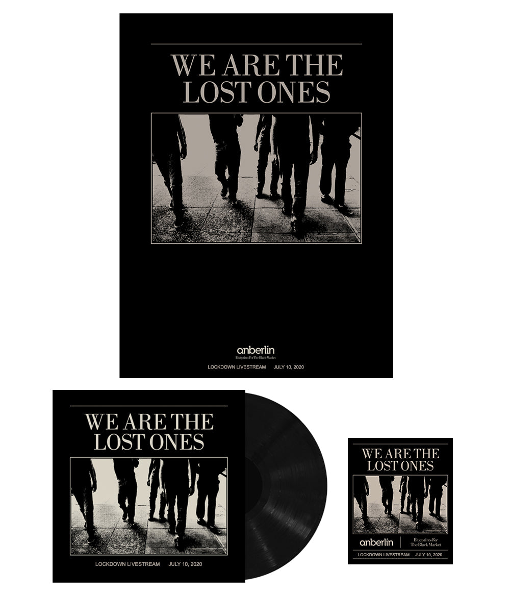 Anberlin We Are The Lost Ones Bundle #5 *PREORDER SHIPS 9/21