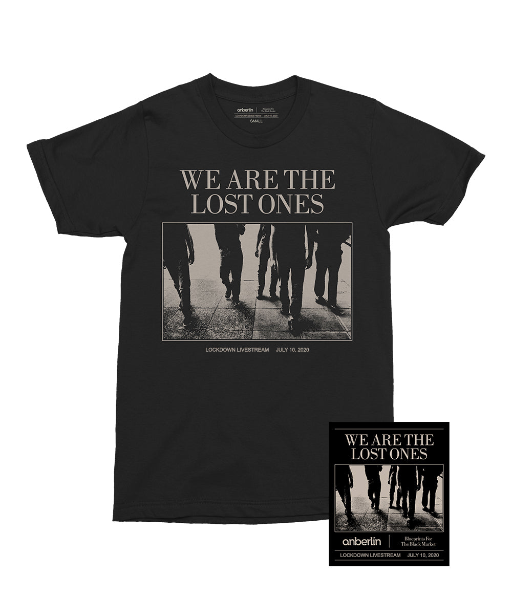 Anberlin We Are The Lost Ones Bundle #6 *PREORDER SHIPS 7/31