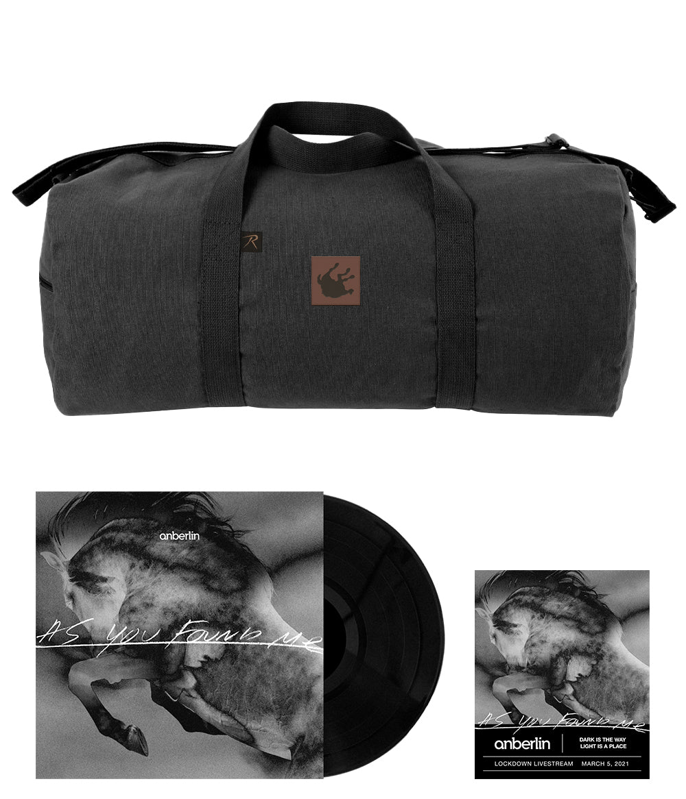 Anberlin As You Found Me Bundle #6 *PREORDER - SHIPS AUG 2021