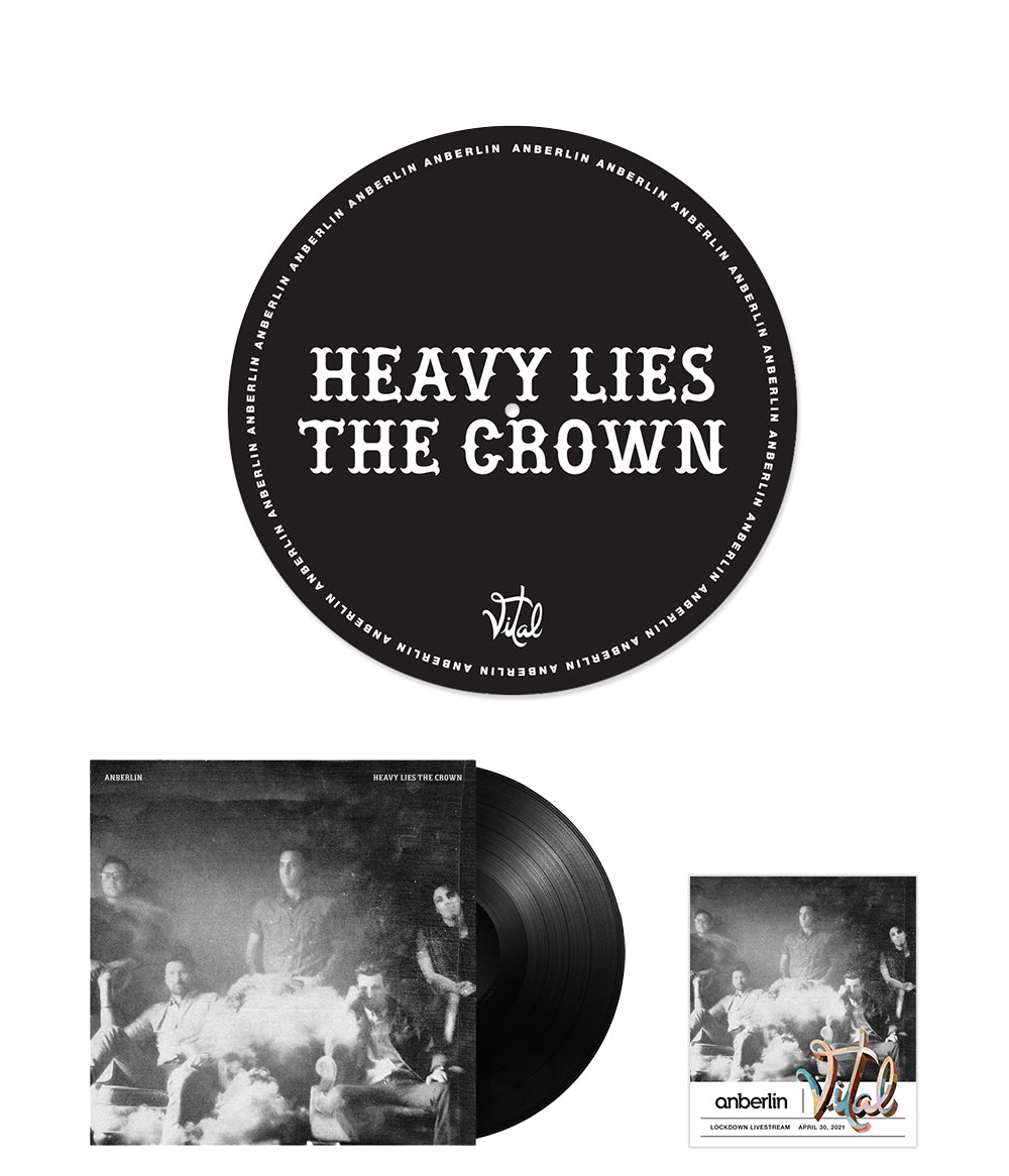 Anberlin Heavy Lies The Crown Bundle #6 *PREORDER - SHIPS NOV 2021