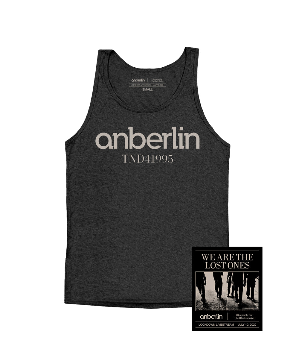Anberlin We Are The Lost Ones Bundle #7 *PREORDER SHIPS 7/31