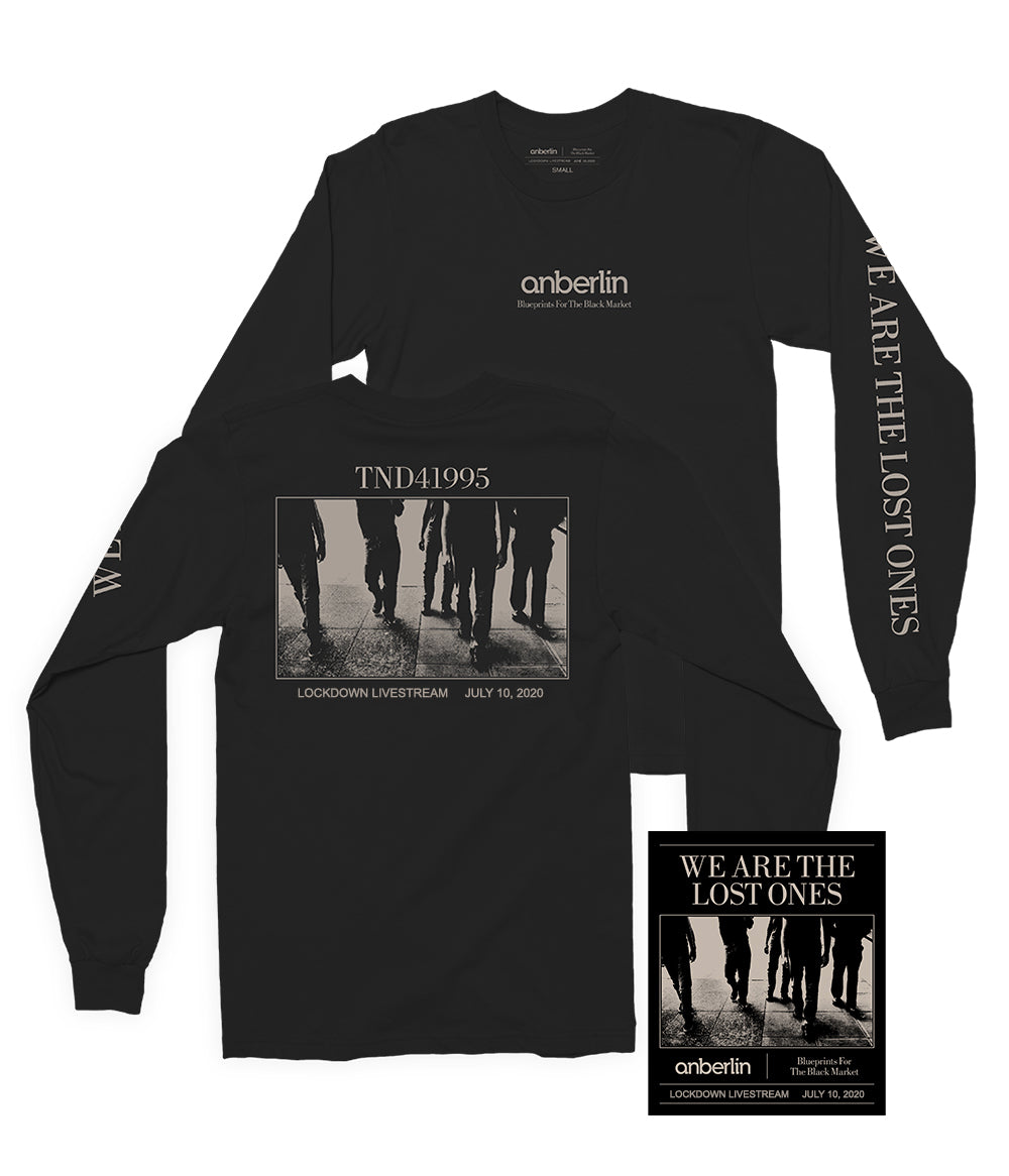 Anberlin We Are The Lost Ones Bundle #8 *PREORDER SHIPS 7/31