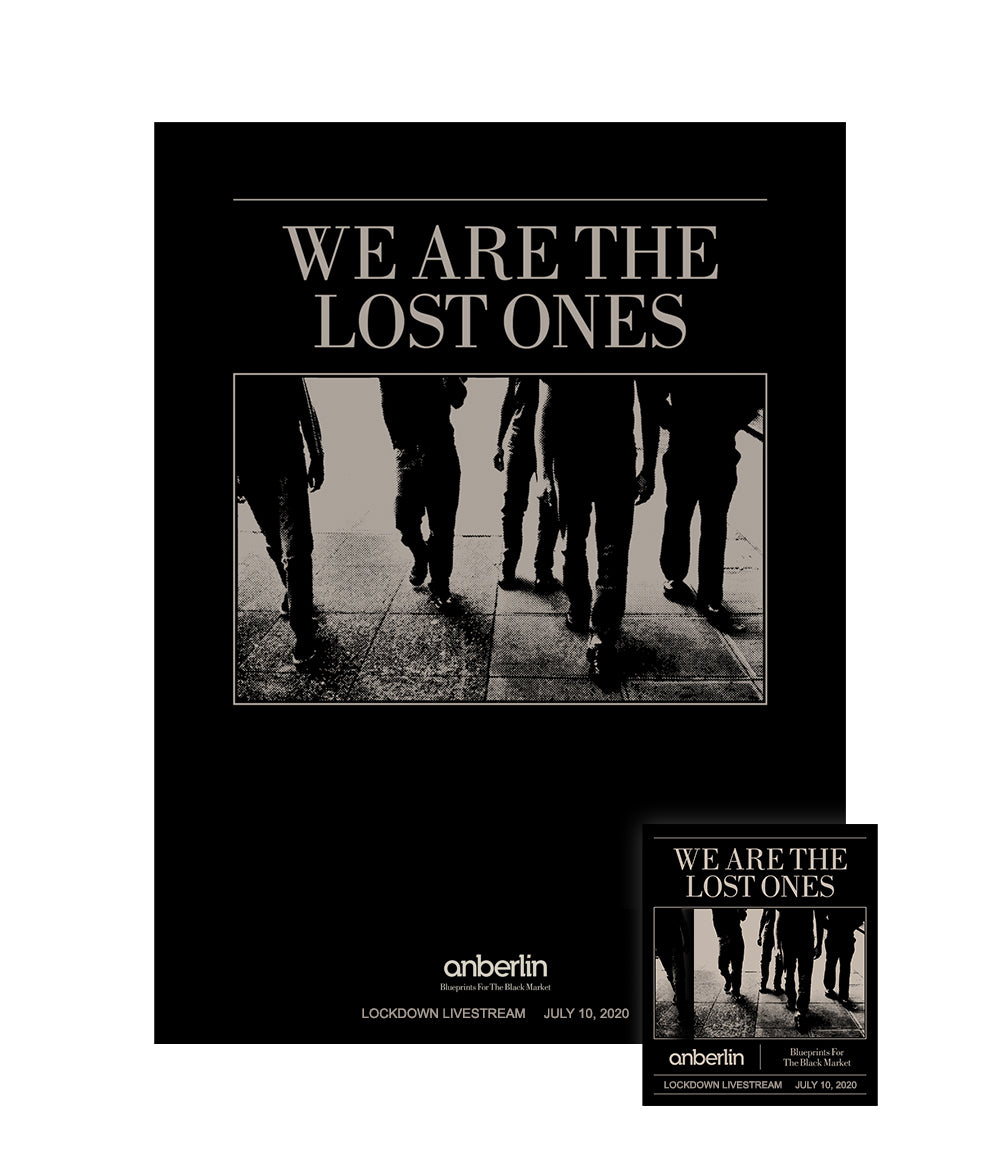 Anberlin We Are The Lost Ones Bundle #9 *PREORDER SHIPS 7/31