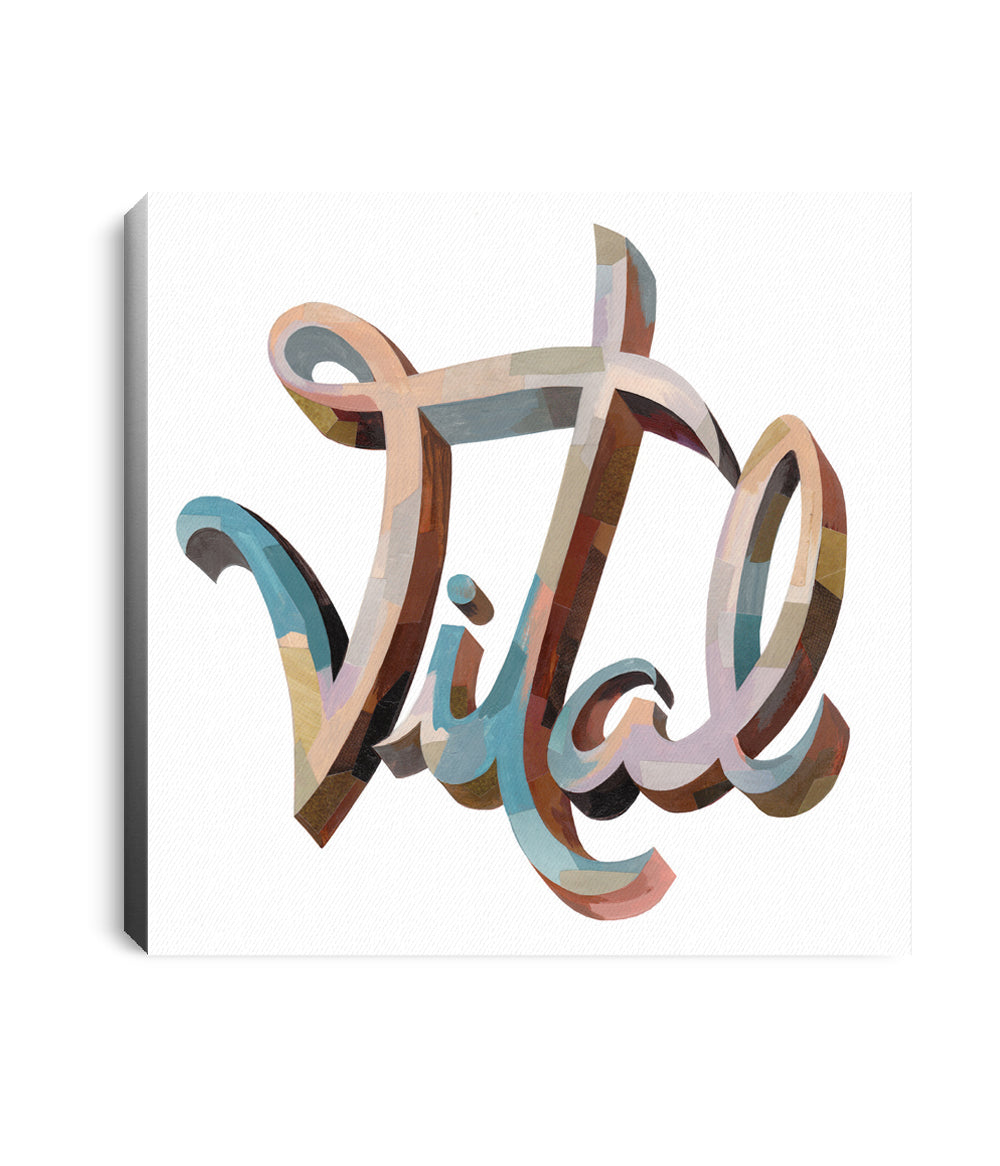 Anberlin Vital Stretched Wall Canvas *PREORDER - SHIPS 06/11
