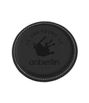 Anberlin As You Found Me Leather Coaster *PREORDER - SHIPS MAR 31