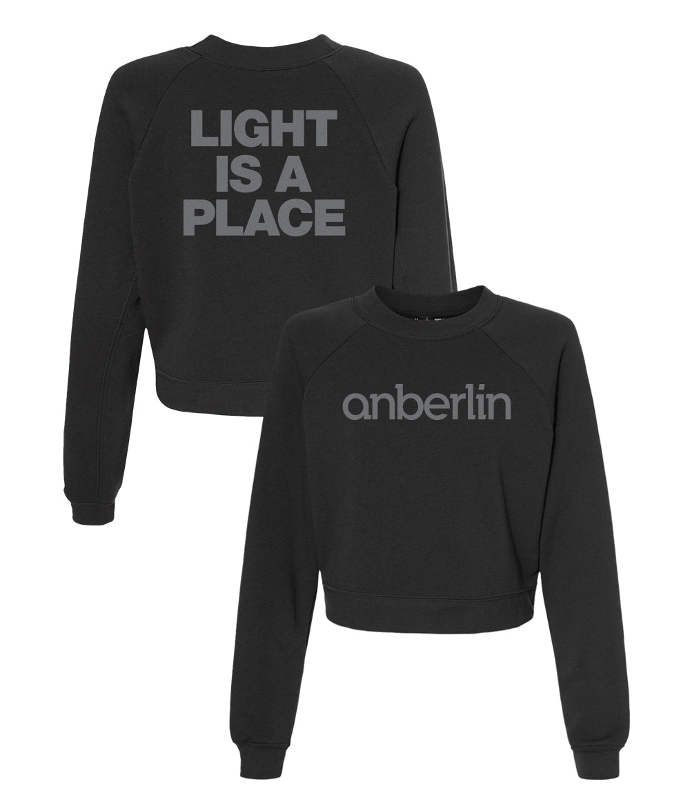 Anberlin As You Found Me Womens Cropped Crewneck Sweatshirt