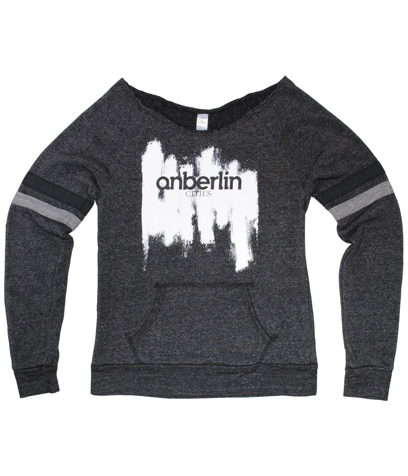 Anberlin Cities Womens Crewneck Sweatshirt