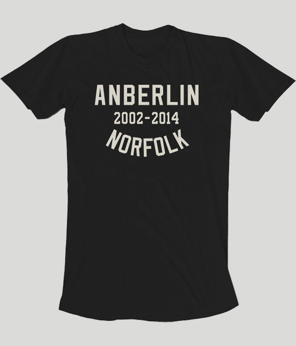 Anberlin Final Tour Norfolk Shirt