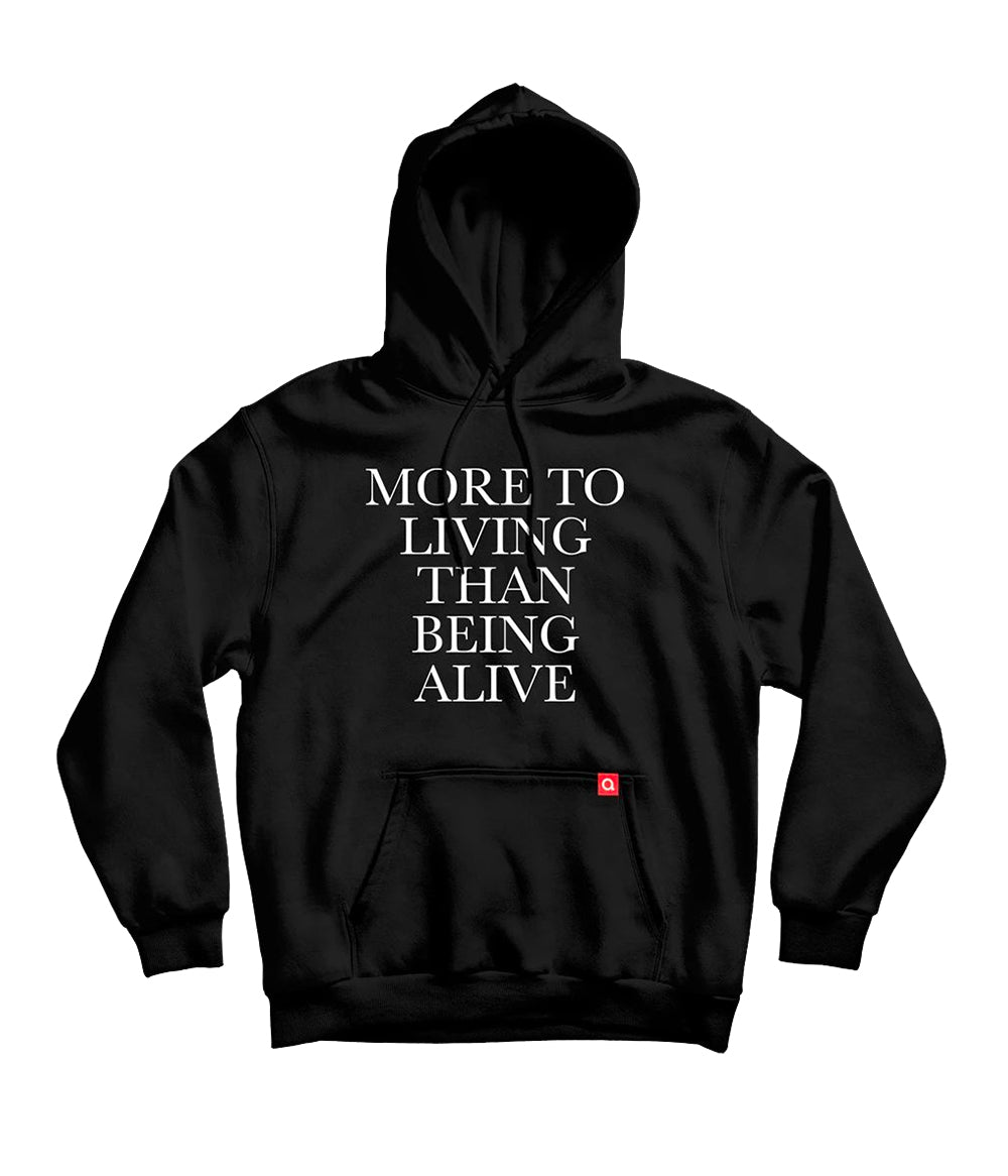 Anberlin More To Living Than Being Alive Hooded Sweatshirt