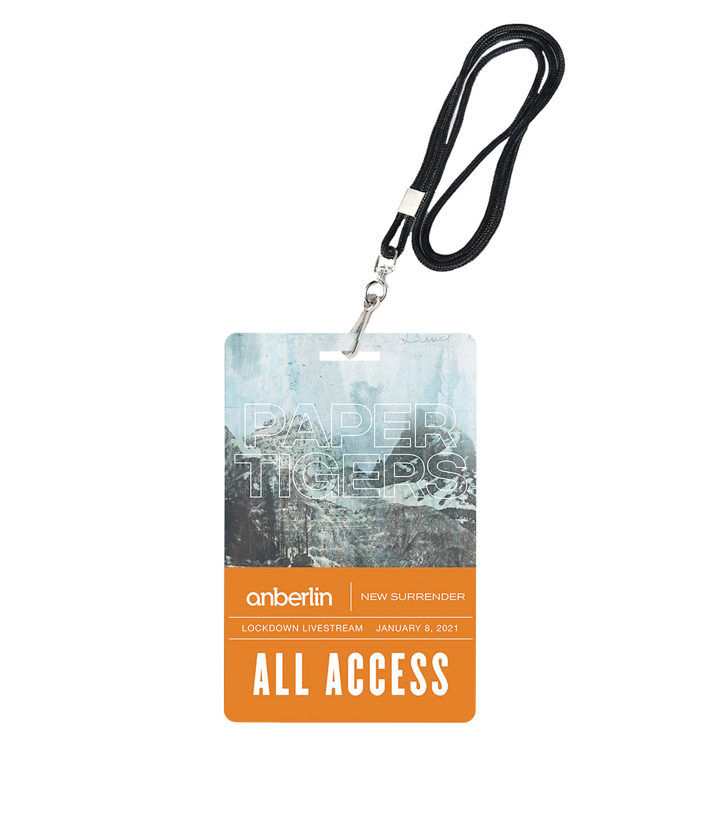 Anberlin Paper Tigers Livestream Laminate *PREORDER - SHIPS JAN 29