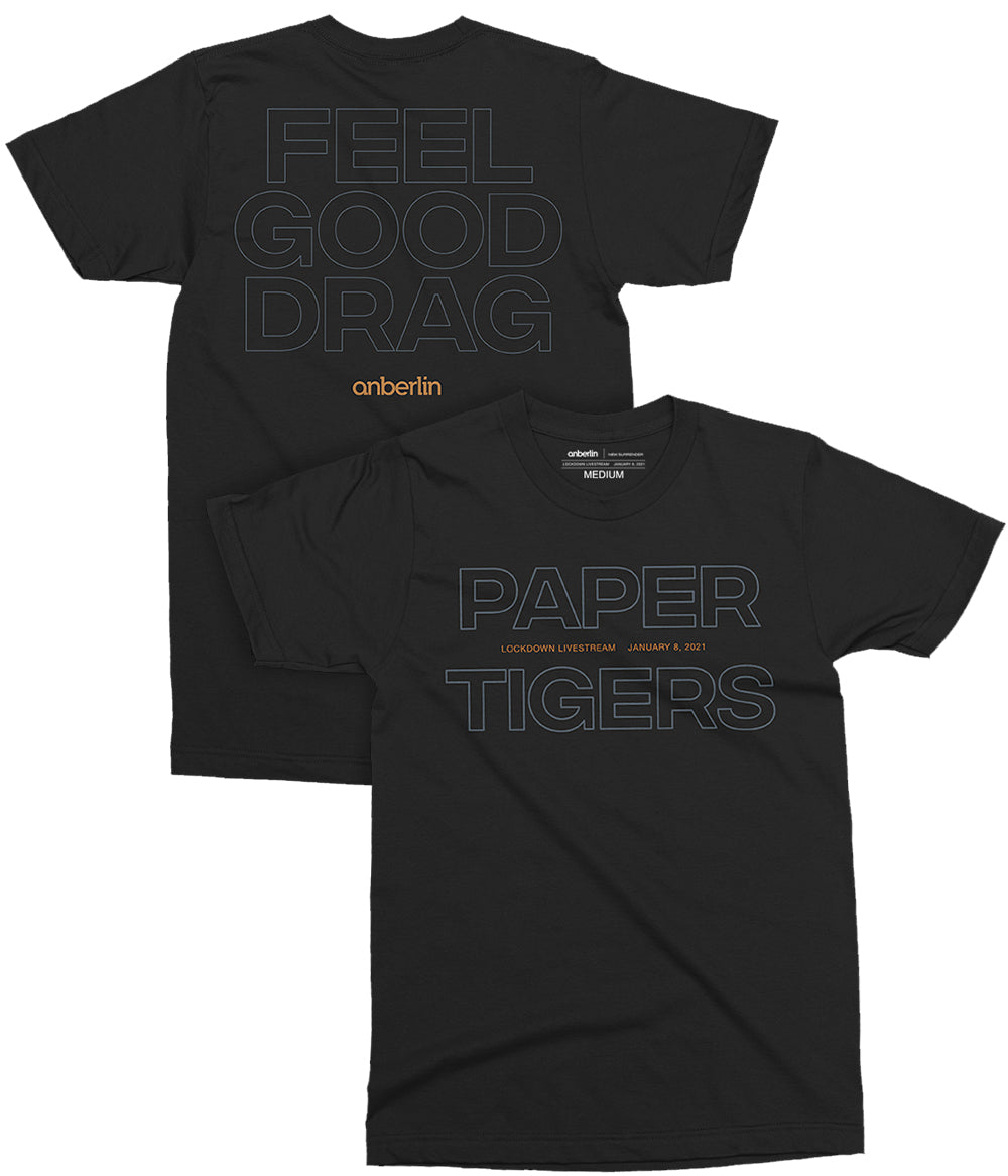 Anberlin Paper Tigers Shirt *PREORDER - SHIPS JAN 29