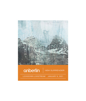 Anberlin Paper Tigers Bundle #1 *PREORDER - SHIPS JUNE 2021