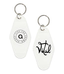 Anberlin Heavy Lies The Crown Retro Hotel Keychain *PREORDER - SHIPS 06/11
