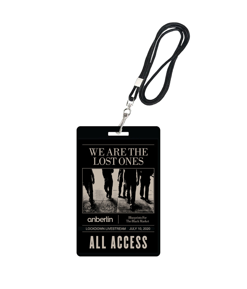 Anberlin We Are The Lost Ones Livestream Laminate
