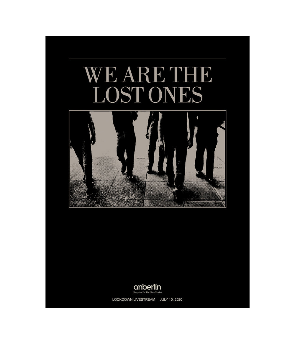 Anberlin We Are The Lost Ones Poster
