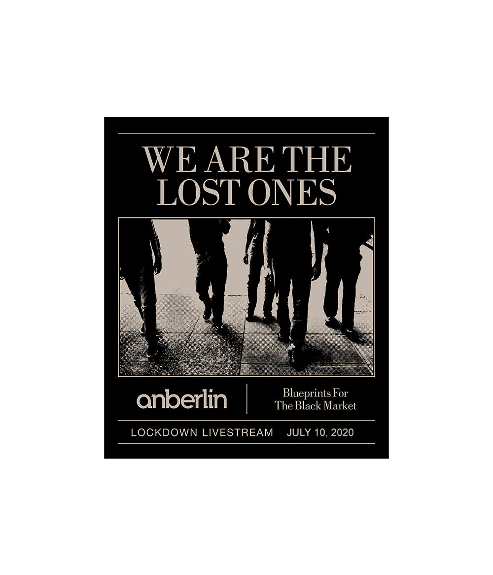 Anberlin We Are The Lost Ones Livestream Ticket