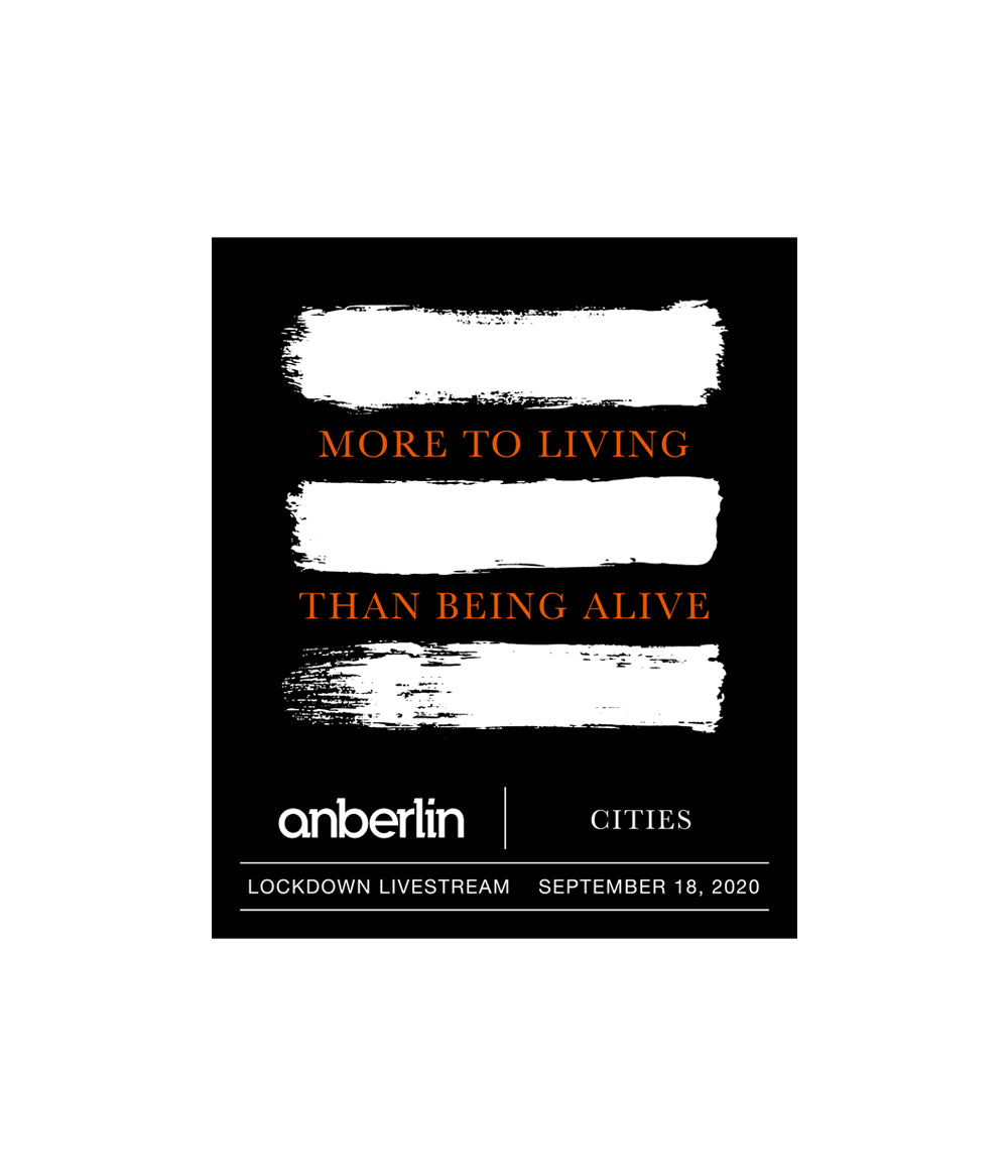 Anberlin More To Living Than Being Alive Livestream Ticket