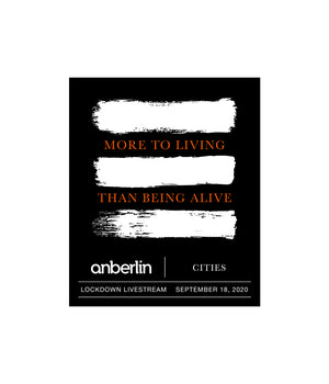 Anberlin More To Living Than Being Alive Bundle #8 *PREORDER - SHIPS OCT 16