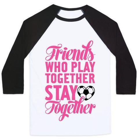 Friends who play together T-shirt gifts, gift ideas