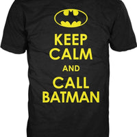 Keep Calm And Call Batman T-shirt gifts, gift ideas