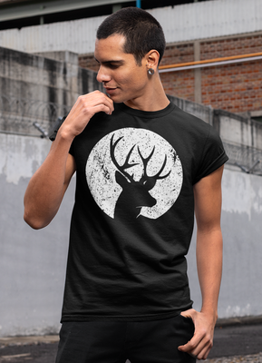 Moon & Deer T-shirt gifts, gift ideas
