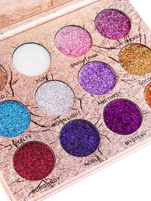 Professional 12 Colors Glittering Long Lasting Eyeshadow Palette gifts, gift ideas