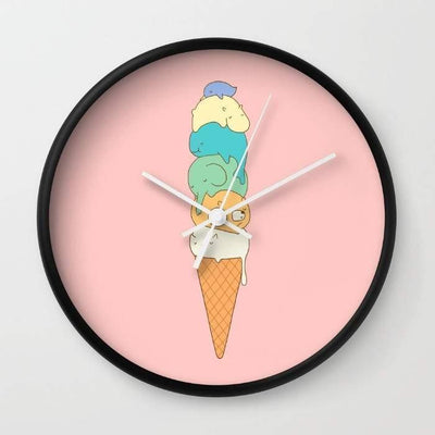 Ice Cream Lovers clock gifts, gift ideas