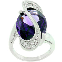 Amethyst Orbit  Ring gifts, gift ideas