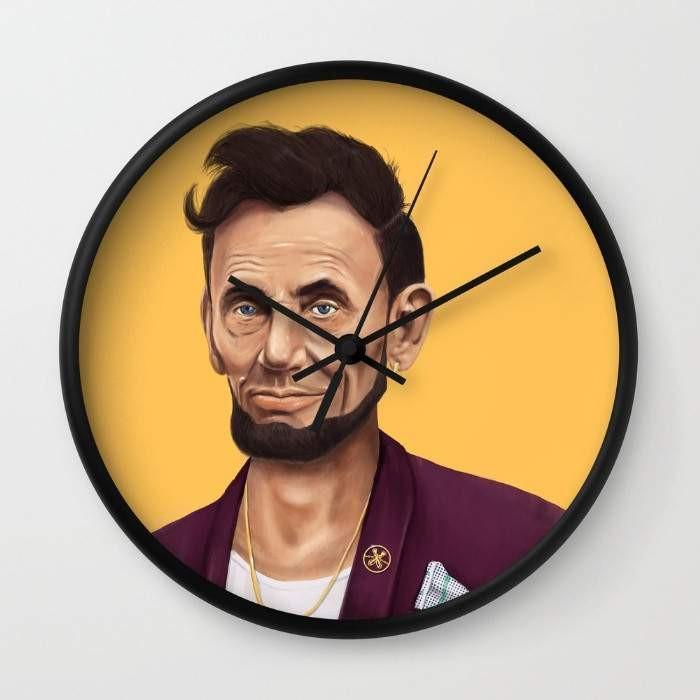 Abraham Lincoln Wall clock gifts, gift ideas
