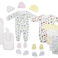 Newborn Baby Girls 15 Pc Set gifts, gift ideas