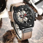NEUTRA Curren Leather Mens Watch gifts, gift ideas