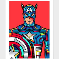 Captain America  Frame gifts, gift ideas