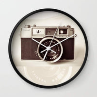 Camera Wall clock gifts, gift ideas