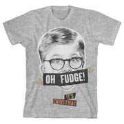 Boys Oh Fudge Shirt A Christmas Story T-Shirt gifts, gift ideas