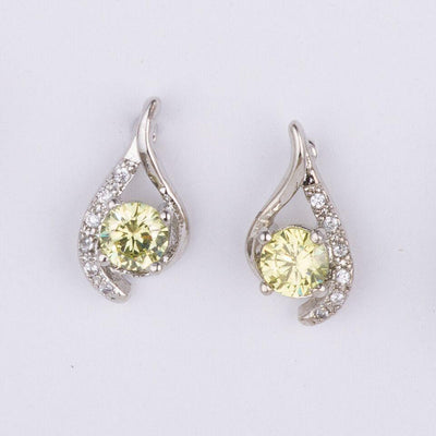 Light Green Crystal Earrings gifts, gift ideas