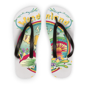 Wonderland Kids Flip Flops (USA Shipping Only) gifts, gift ideas