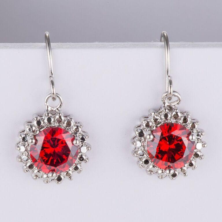 Red Crystal Sun Earrings gifts, gift ideas