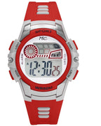 Montres Carlos 5 ATM Red Digital Sports Watch Watches: Digital