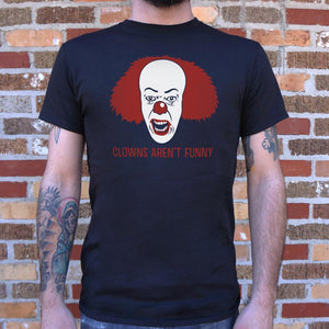 Clowns Aren't Funny Mens T-Shirt gifts, gift ideas
