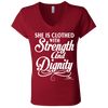 SHE IS CLOTHED WITH STRENGTH AND DIGNITY  Ladies' gifts, gift ideas